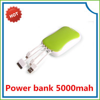 China supplier 2014 New product 5000mah portable smartphone and tablet power bank