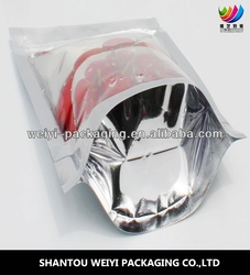 Resealable aluminium Packing Bag For Nuts