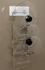wholesale cheap price kitchen accessory stainless steel pot cover rack/shelf/holder
