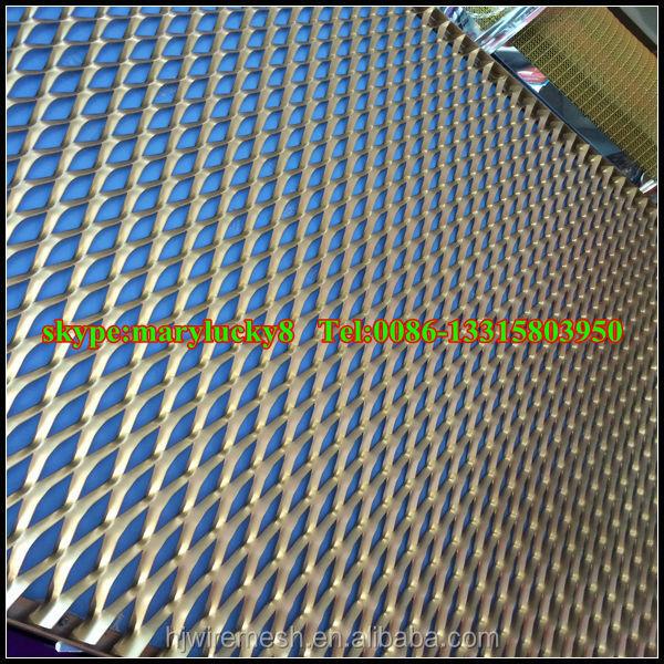 Decorativo esteso maglia pannelli di rivestimento a parete for Rete stirata prezzo