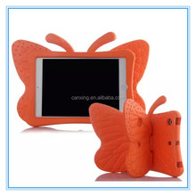 Top selling 3D Butterfly Rugged EVA Protective Case for iPad mini