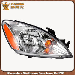 Halogen Head light car replacement Assembly DOT 04-07 Lancer