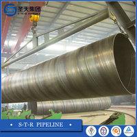 Contruction Materials/ DIN EN API 5L SSAW/HSAW High Strength Spiral Welded