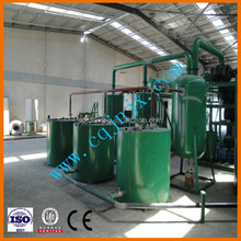 ZSA series wast truck motor oil transform into high quality essential/base oil plant/Oil purifier machine