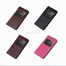 Wholesale rock skin series smart sleep awake leather case for Huawei honor 6