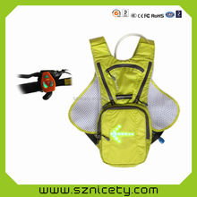 LED lights hydration water bag manufacturer in China