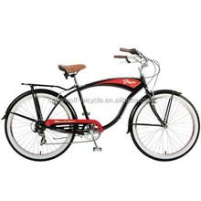 26 single speed 6 speeds inner speeds men womn lady beach cruiser bike