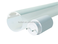 plastic lampshade material bio-color full pc quality led tube parts