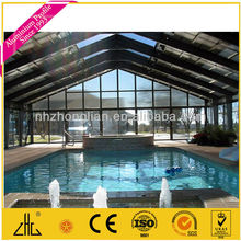 Wow!!! aluminium glass house for swimming pool,green house,sun room/with glass and catalog/manufacturer/factory supplier/OEM/ODM