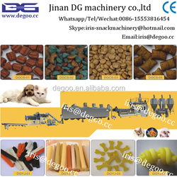 Automatic pet food /cat/fish /dog manufacturing line from 100kg-1T per hour