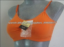 Mujeres respirar con libertad, sudar-absorbente sujetador sostén