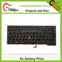 Genuine Original New UK keyboard for IBM Lenovo Thinkpad T440I backlit keyboard UK Layout 00HW866 04X0168 04X0130