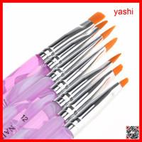 YASHI Pure kolinsky nail art brush Professional Beauty Design