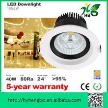 CE ROHS dimmable led downlight hot sale new led down lamp ceiling design spotlight