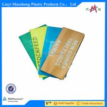 100% original material white plastic bags for rice packaging