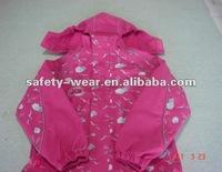 rain jacket for kids pink color