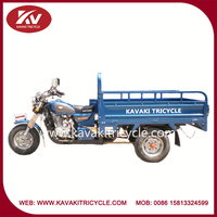 Hot selling cheap three wheel motorized custom air-cooled tricycle motorcycle made in China
