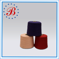 Ne 80/1 100 percent Cotton Combed Yarn for knitting and weaving