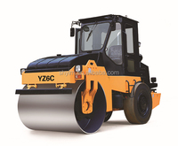 Junma brand oscillatory road roller JMD806H for sale with low price