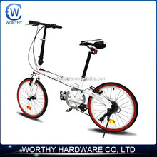 China factory direct wholesale 7 speed mini students folding bike