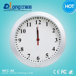 multifunction wall clock digital camera, hidden camera microphone, alarm clock hidden camera(WCC-A8)