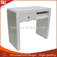 Unusual up-down beauty cosmetic desk,wooden nail manicure desk india