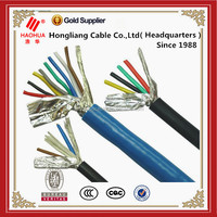 16 Cores PVC Control Cable PVC with Shield Signaling multicore instrumen kabel