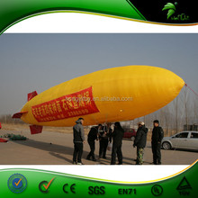 Excellent Quality PVC Inflatable RC Blimp ,Helium Airship Used For Promotion Activities