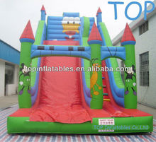 Hot selling Commercial Grade Durable PVC Cartoon Character Design Inflatable Slide