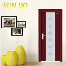 Beautiful design pvc door profile China factory