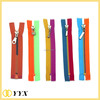 specialized style shenzhen factory plastic zipper two color zipper