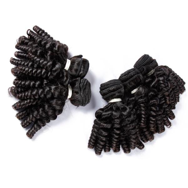 JP Cheveux vente chaude 7a embrouillement et rejet libre top qualité cheveux crépus courbure bébé cheveux