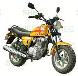 Motorcycle two speed rear axle with 2000w motor