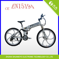 36v battery folding light weight aluminum alloy electrical bicycles