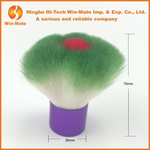 favorable response petal shape multi colors synthetic hair kabuki brushes with advantage quality