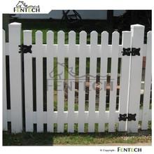 Fentech High Quality New Design Popular Style Plastic Garden Fence Panels, Cheap Fence Panels