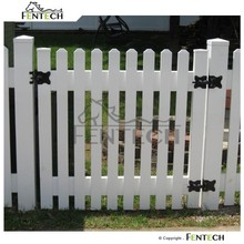 Made in China Fentech High Quality New Design Popular Style Plastic Garden Fence Panels, Cheap Fence Panels