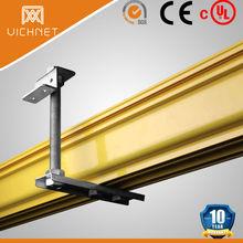 plastic PVC fiber cable trunking system price