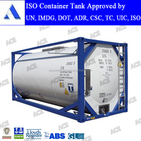 IMDG fuel iso tank container 20ft for sale