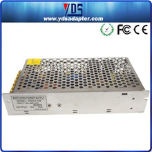consumer electronics manufacturers t8 led tube power supply for 12V 10A 120W on/off switch
