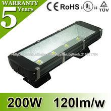 De alta calidad 200W led luz del túnel CE RoHs