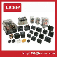black electrical relay socket