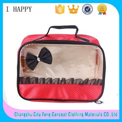 Classic Travel Hanging PVC Toiletry Bag for Women