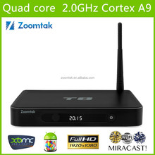T8 Amlogic S802 Quad Core Android TV Box 2GB RAM 8GB ROM Dual band wifi 2.4/5GHz Ultra 4K Output wholesale android smart tv set