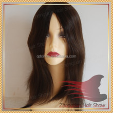 Top Grade AAAAA Full Hand Made Skin Top Jewish Women Wig Kosher Wigs