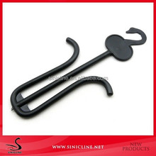Sinicline Wholesale Cheap Plastic Shoe Hanger with Custom Logo