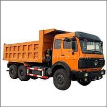 beiben camión dumper 6x4 y camiones de descarga de camiones para la venta