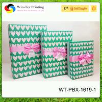 WT-PBX-1619-1 Heart-shaped paper gift box