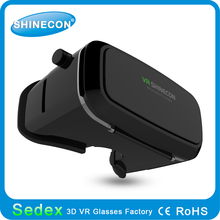 Your new clear home theater comes!VR Shinecon high quality vr 3d glasses box eclipse glasses 3d glasses vr cheap price 3d glasse