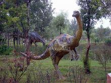 2012 hot sale handmade dinosaur models